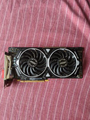 MSI Radeon RX 580 armor 8GB OC Edition Graphics Card for Sale in Haverhill, MA