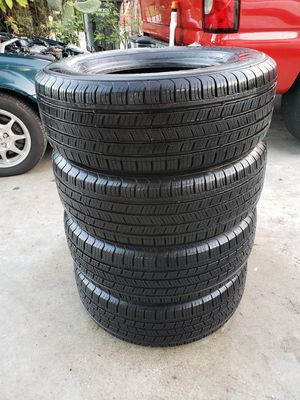 Kumho tires size 215/70R14 semi new! for Sale in Santa Fe Springs, CA