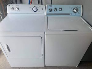 Whirlpool washer and General Electric dryer for Sale in El Paso, TX