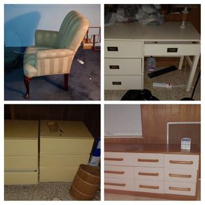 Free Furniture Chair, Desk, Dresser And More for Sale in Lake Worth, FL