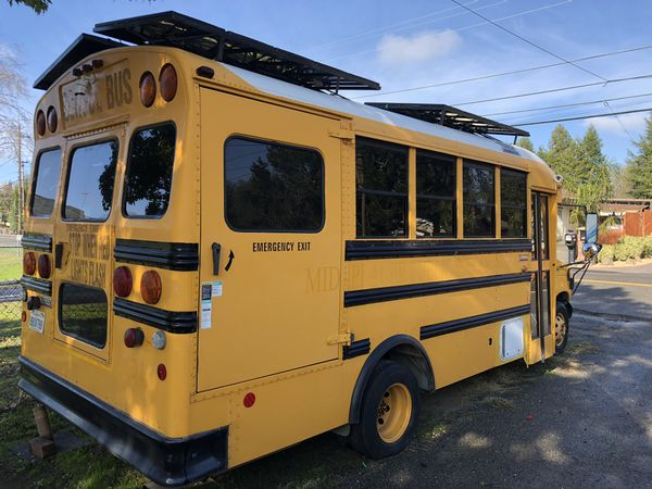 Solar powered 7.3 bus and more