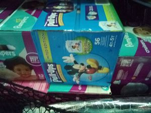 Diapers and Pull Ups. (Pampers, all sizes. $40 boxes.) for Sale in Philadelphia, PA