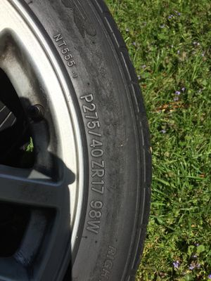 Wide Gm rim's for Sale in Alexandria, VA