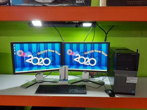 i7 DELL COMPUTER SYSTEM NOW WIFI FREE +DUAL MONITORS SETUP WINDOWS 10 64 BIT for Sale in Kennedale, TX