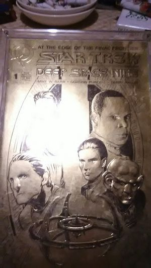 Deep Space 9 Gold Limited Edition Comic Book for Sale in Mystic Islands, NJ