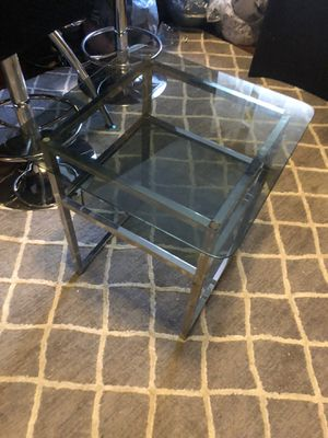 Glass table for Sale in Brooklyn, NY