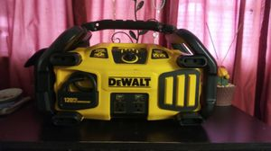 DEWALT air compressor/jumping power/portable power for Sale in Tampa, FL