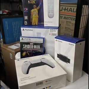PlayStation 5-Disc Edition-Bundle Pack for Sale in Menifee, CA