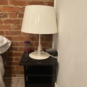Ikea Lamp and night stand for Sale in Washington, DC