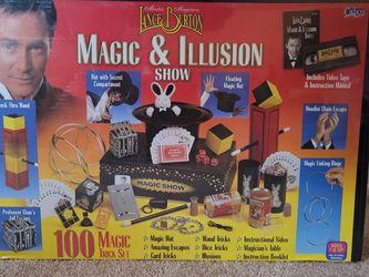 Lance Burton Vintage 100 Trick Magic Set for Sale in Los Angeles,  CA