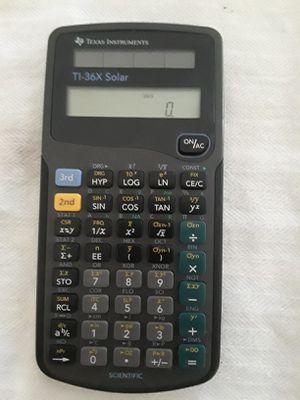 Texas Instruments TI-36X Solar Scientific Calculator for Sale in Houston, TX