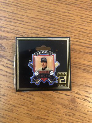 Vintage Rare Angels Baseball Jim Edmonds Pin 25 Outfield for Sale in Artesia, CA