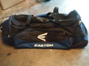 Easton batting bag on wheels for Sale in Tampa, FL