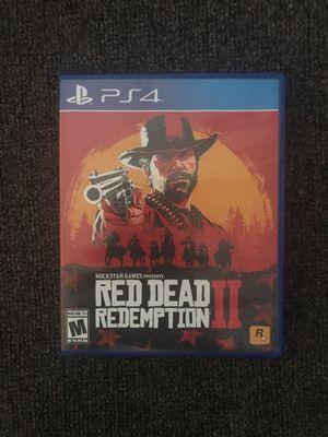 Red Dead Redemption 2, PS4 for Sale in Harrisonburg, VA