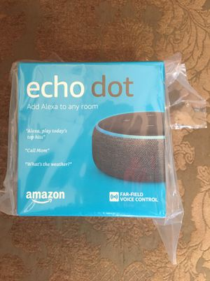 Brand new Amazon Echo Dot (3rd gen) for Sale in McLean, VA