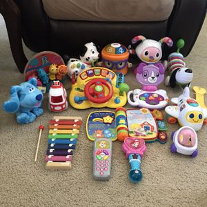 Baby , Toddler Toys (15 Pieces) for Sale in Aloha, OR