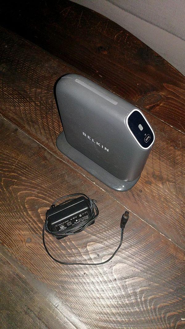 Belkin Router 4 ports, WiFi