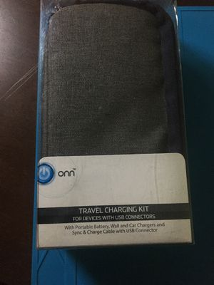 Onn Travel Charging Kit for Sale in St. Petersburg, FL