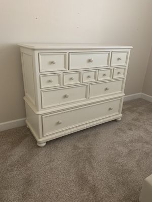 Gorgeous 11 drawer tall dresser! Real maple wood! for Sale in Chandler, AZ