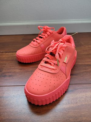 NEW Puma Cali 80's Hot Pink Leather Sneakers 369161-05 Womens. for Sale in San Jose, CA