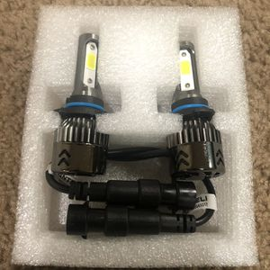 9006 HB4 9012 9006XS LED headlight bulbs replacement fog lights foglights for Sale in Des Moines, WA
