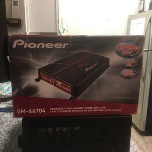 Pioneer 1000 Watt Amplifier for Sale in Newport News, VA