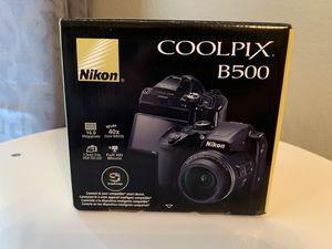Nikon COOLPIX B500 Digital Camera (Black) for Sale in Grand Prairie, TX