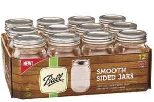 12-Pack Pint Ball 16 oz Canning Mason Jars w/ Lids/Bands *WHILE SUPPLIES LAST* for Sale in Miami Beach, FL