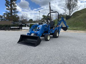 2020- LS MT125 Sub- Compact Trailer * W/ Backhoe Attachment for Sale in Redlands, CA