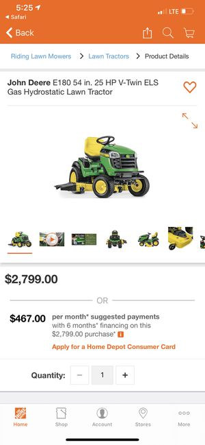 """Brand new john deere mower e180 54"""" deck for Sale in Fresno, CA"""