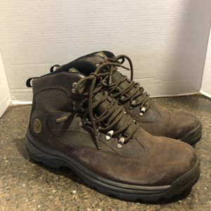 Timberland Men's Brown And Green Gore-Tex Boots Size 12 for Sale in Manassas, VA