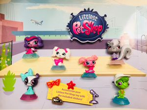 McDonalds Happy Meal Display Toys Littlest Pet Shop 2015 for Sale in Corinth, TX