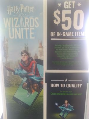 Harry Potter wizards unite for Sale in Crestview, FL
