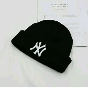New Black Knitted Beanie With Whity NY Logo for Sale in Las Vegas, NV