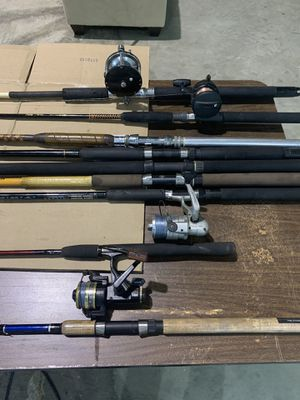 Fishing rods/reels for Sale in Miami, FL