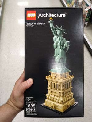 Architecture Lego of statue of liberty. for Sale in West Covina, CA