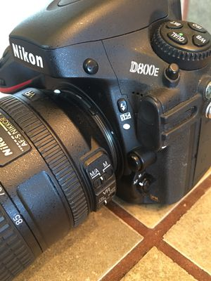 Nikon D800e with Nikon 24-85mm 3.5-4.5G VR lens for Sale in Jackson, CA