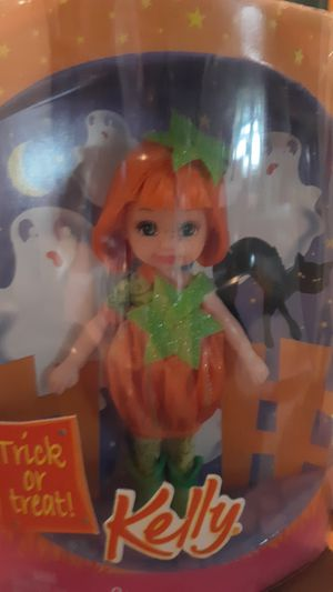 barbie kelly doll trick or treat pumpkin for Sale in Washington, PA