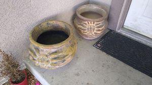 Flower pots large for Sale in Las Vegas, NV