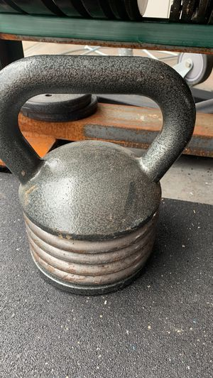 30lb adjustable kettlebell for Sale in Portland, OR