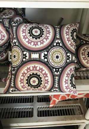 Patio furniture pillows for Sale in Burlington, MA