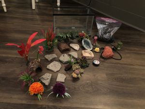 Terrarium/aquarium kit for Sale in Everett, WA