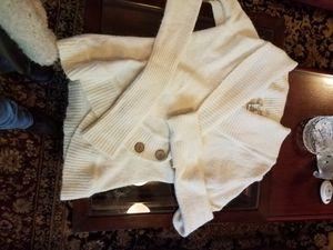 Warm white sweater for Sale in Tumwater, WA