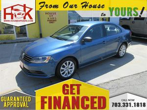 2015 Volkswagen Jetta Sedan for Sale in Manassas, VA