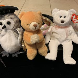Ty Beanie Babies - Set- Halo, Wiser, Hope for Sale in Plant City, FL