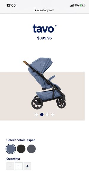 Nuna TAVO stroller with a free rain cover (worth $39) for Sale in Queens, NY