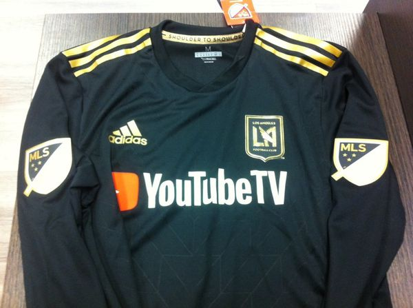 baeeb35517f LAFC Vela Long Sleeve Home Jersey for Sale in South El Monte