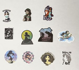 New Disney Princess hydroflask stickers any 6 stickers for $5 for Sale in Phoenix, AZ
