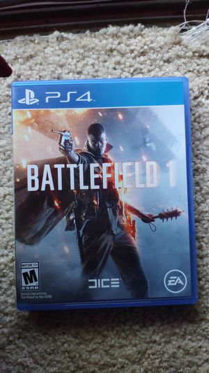 Battlefield 1 PS4 for Sale in Fremont, CA