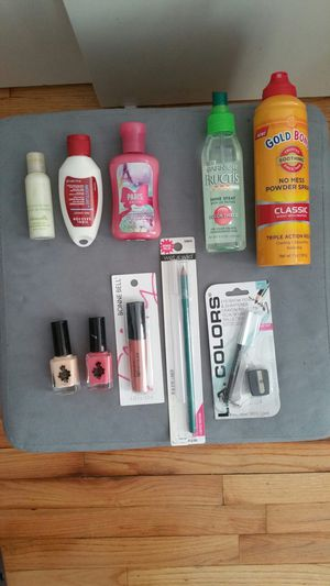 Brand new Lot of Cosmetics, nail color, hair spray and lotion for Sale for sale  North Arlington, NJ